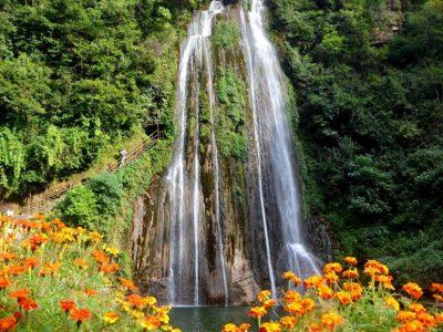 गाईघाट झरनामा बढे आन्तरिक पर्यटक