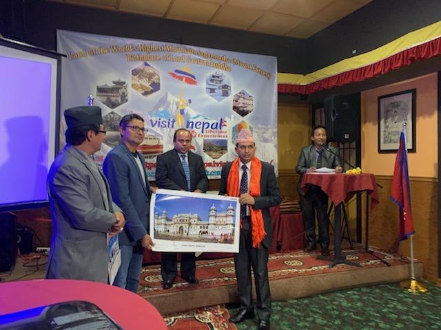अमेरिकाका राज्य सिनेटरद्वारा कानुन मन्त्री ढकाल समक्ष भ्रमण बर्षमा नेपाल जाने प्रतिज्ञा