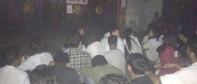 नेशनल मेडिकल कलेजमा आन्दोलनरत विद्यार्थीमाथि 'गुण्डा'को आक्रमण, सुरक्षा माग्दै विद्यार्थी सीडीओ कार्यालय