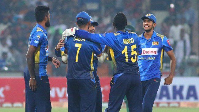 सागका लागि श्रीलंकाको क्रिकेट टोली घोषणा, राष्ट्रिय टिमबाट खेलेका खेलाडी समावेश