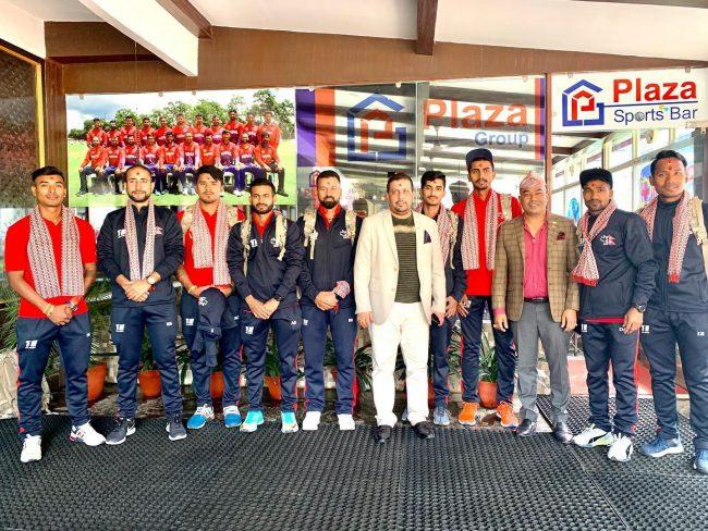 इमर्जिङ एसिया कप खेल्न नेपाली टोली बंगलादेश प्रस्थान