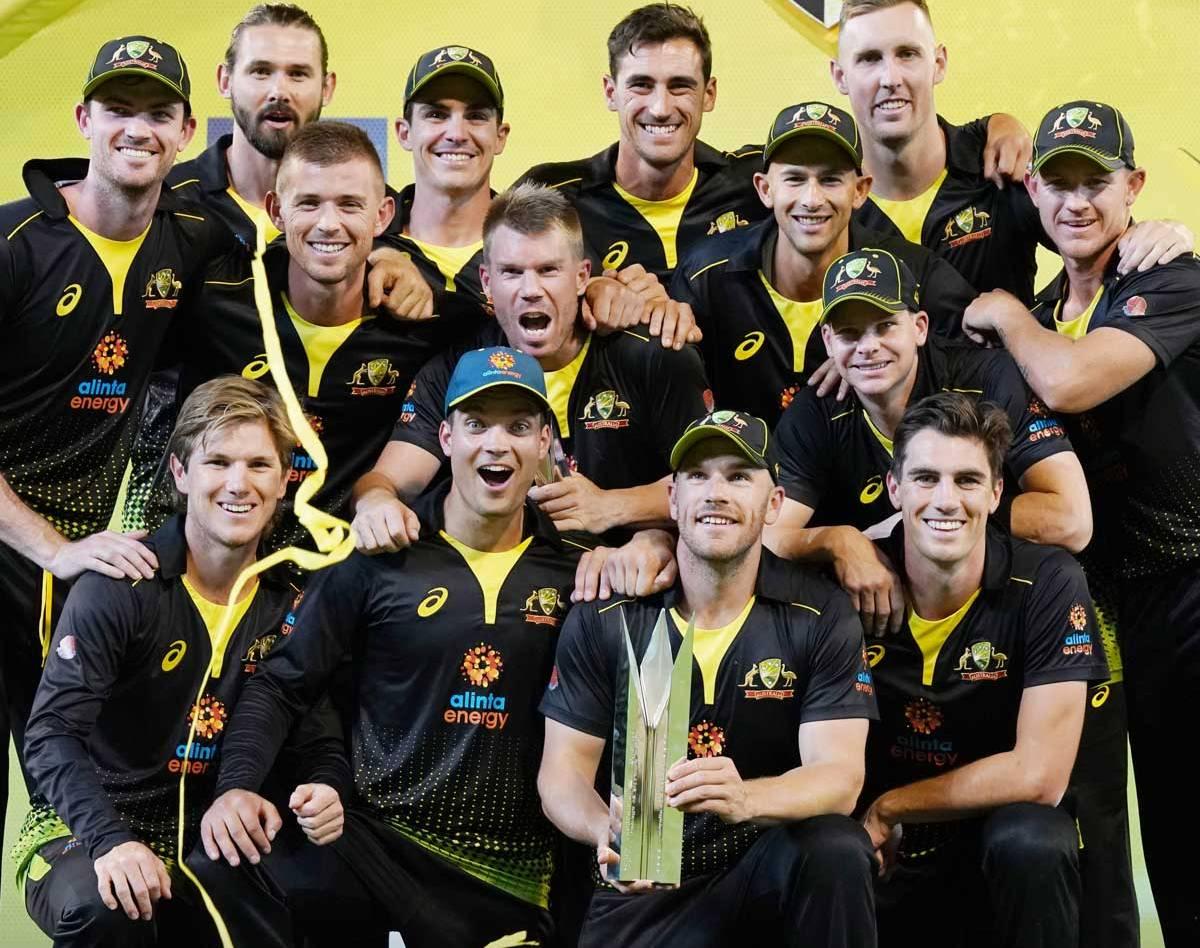 श्रीलंकाविरुद्धको टी–२० सिरिज अस्ट्रेलियाद्वारा क्लिन स्वीप