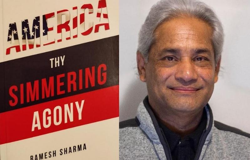 पत्रकार शर्माको तेस्रो कृति 'अमेरिका दाइ सिमरिंग एगोनी' सार्वजनिक