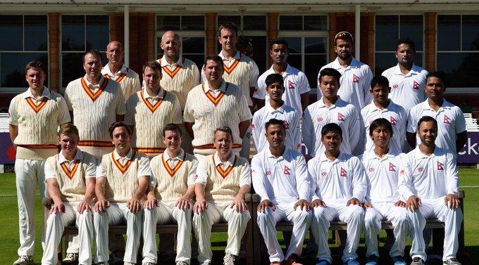 इंग्ल्याण्डको एमसीसी क्लवको क्रिकेट टोली नेपालमा