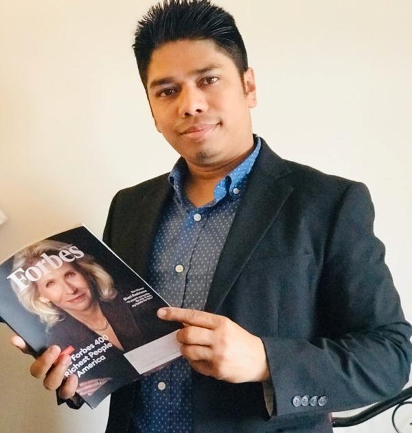 बिश्व चर्चित फोर्ब्स म्याग्जीनमा नेपाली युवा राजन थपलिया