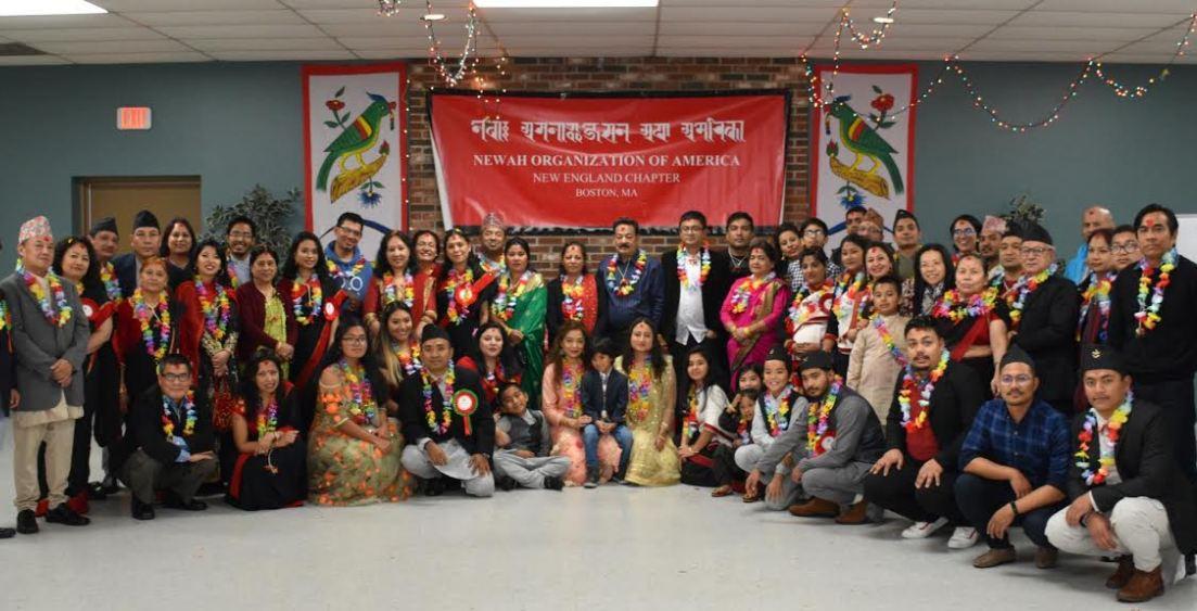 अमेरिकाको बोष्टनमा म्हः पूजा तथा नेपाल सम्बत ११४० मनाईयो