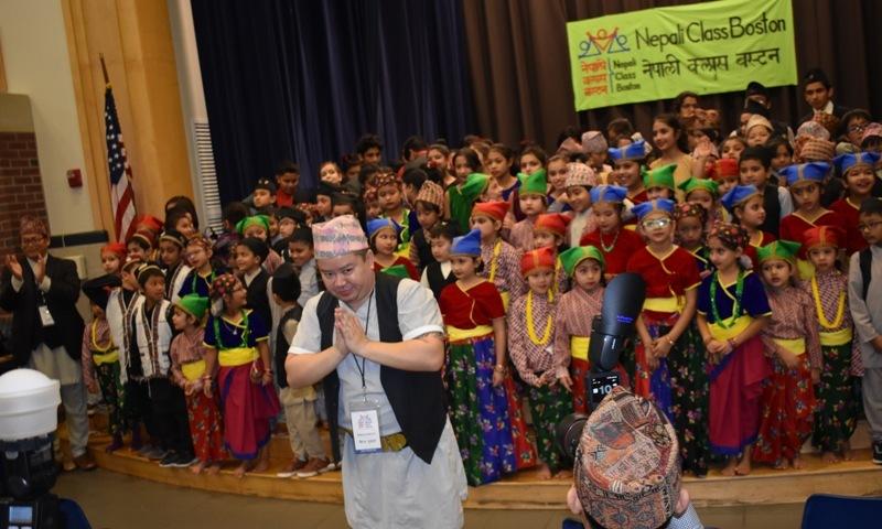 बोष्टनमा नेपाली क्लासको अविभावक दिवस, 'नेपाल एकिकरण' नाटकसहित विभिन्न कार्यक्रम प्रस्तुत
