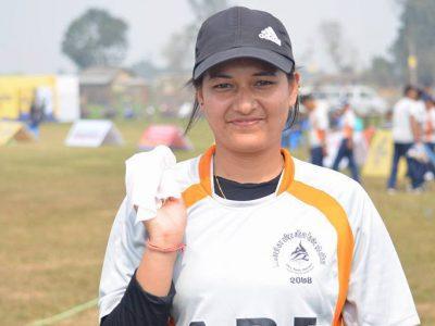 नेपालकी क्रिकेटर अञ्जली चन्दले डेब्यूमै बनाइन् अन्तर्राष्ट्रिय क्रिकेटमा विश्वरेकर्ड