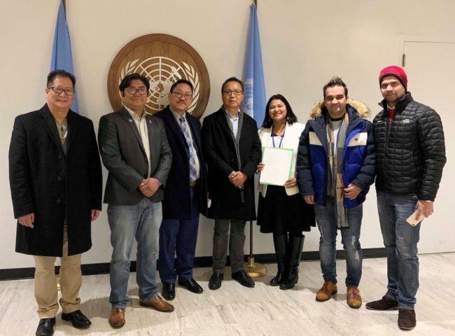 भारतले नेपालको भूमि मिचेको भन्दै एनआरएनएले संयुक्त राष्ट्रसंघमा बुझायो ज्ञापनपत्र