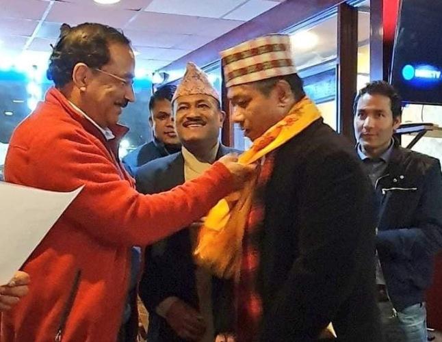प्रवासी नेपाली एकता समाज अमेरिकाको अध्यक्षमा शेरचन