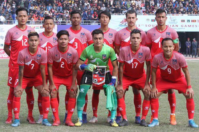 नेपाल साग फुटबलको फाइनल नजिक, माल्दिभ्स २-१ ले पराजित