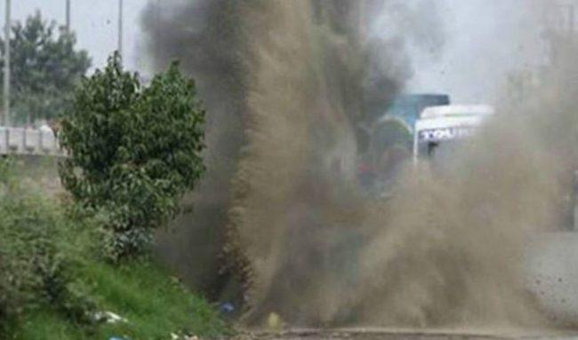 धनुषामा बम विस्फोट, प्रहरी निरीक्षकसहित ३ जनाको मृत्यु