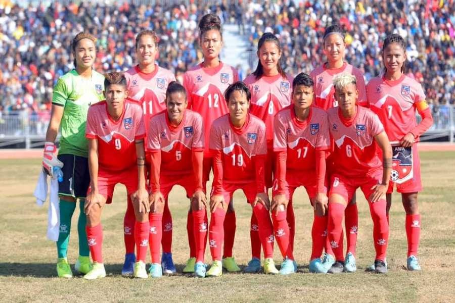 साग महिला फुटबल : नेपाललाई घरेलु मैदानमा स्वर्ण जित्ने अवसर