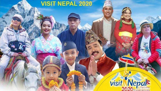 'भिजिट नेपाल २०२०' गीत सार्वजनिक, गीतको आम्दानी केअर बाल गृहलाई