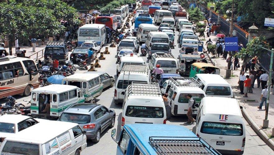 आज काठमाडौँमा बिजोर नम्बरका सवारी चलाउन नपाईने