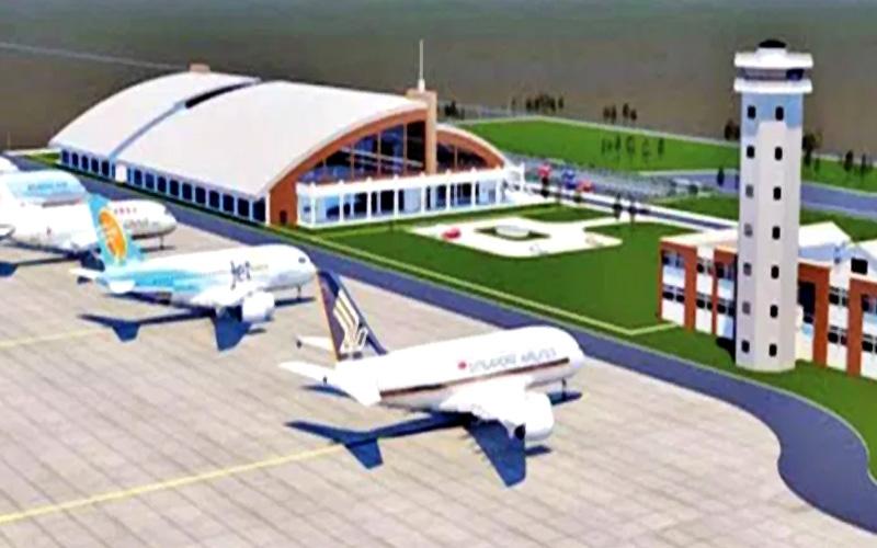 गौतमबुद्ध विमानस्थलको ९२ प्रतिशत भौतिक प्रगति