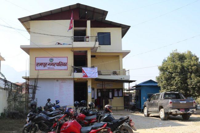 आयातित तरकारी निरुत्साहित गर्दै रामपुर नगरपालिका