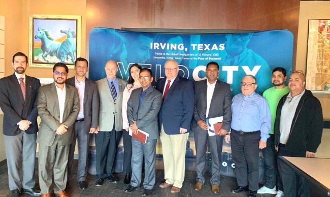 टेक्ससको सिटी अफ अर्भिंग र नेपालको गोकर्णेश्वर नगरपालिका बिच 'सिस्टर सिटी' सम्बन्ध स्थापनाको पहल