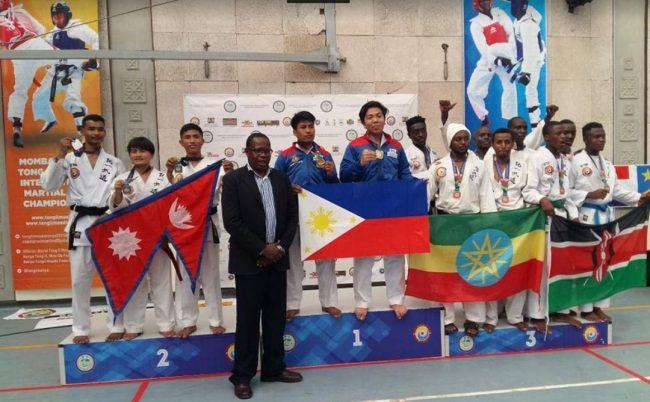 केन्यामा नेपाललाई एक स्वर्णसहित ७ पदक प्राप्त