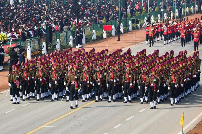 भारतमा गणतन्त्र दिवस सम्पन्न