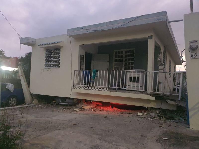 प्रोटो रिको द्वीपमा भूकम्प