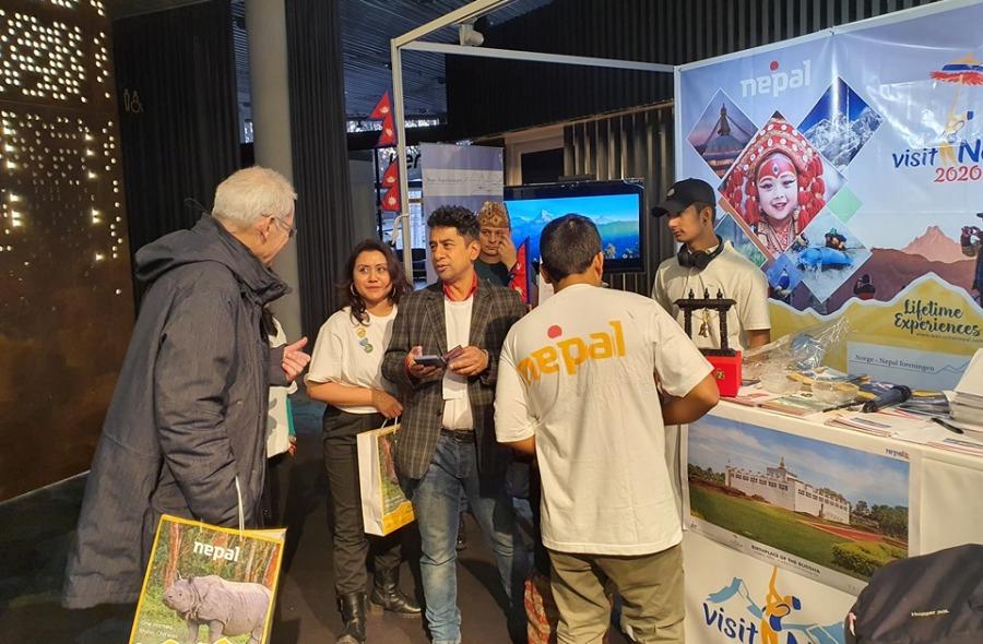 नर्वेको पर्यटन मेलामा नेपाल भ्रमण वर्षको प्रवर्द्धन