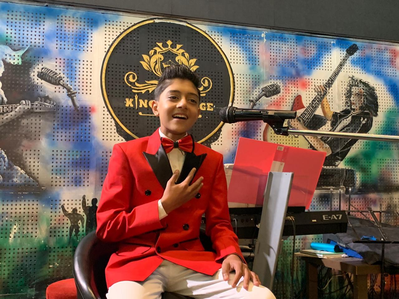 बाल गायक आयुष केसीको 'म एउटा बालक' सार्वजनिक [भिडियो सहित]