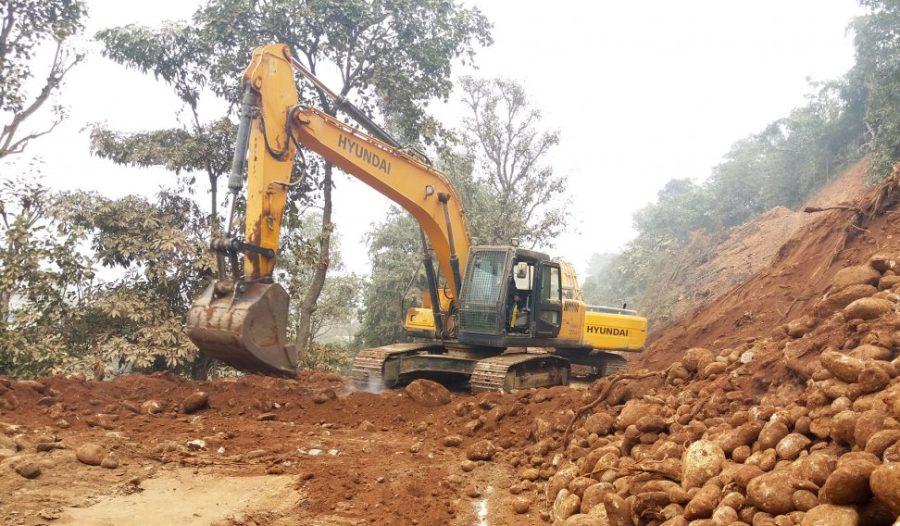 'गल्छी–रसुवागढी' सडक योजनाको काम ६० प्रतिशत सम्पन्न