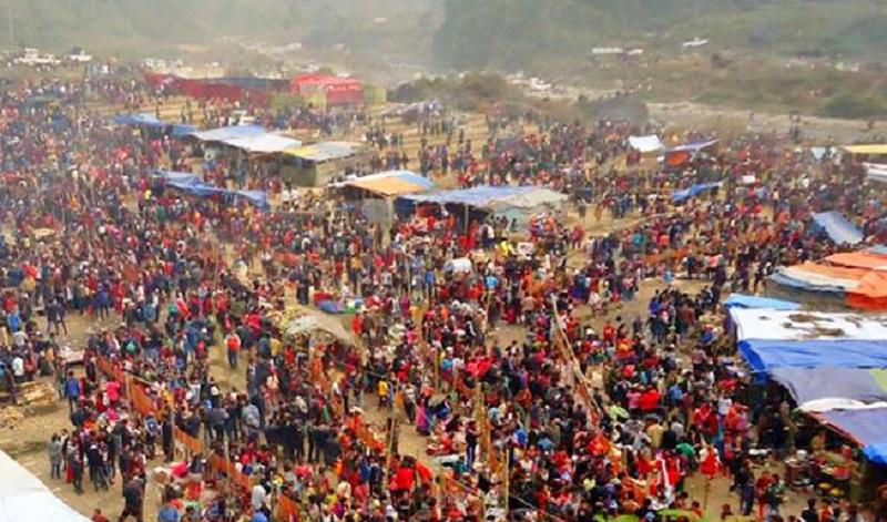 माइबेनी मेला भर्न भारतबाट पर्यटकको ओइरो