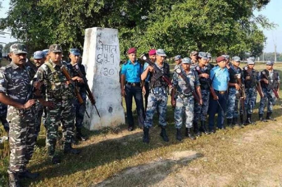 सीमावर्ती दशगजा क्षेत्रको स्थलगत निरीक्षण