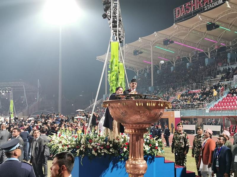 नेपाल भ्रमण वर्षको औपचारिक शुभारम्भ, राष्ट्रपतिले गरिन् उद्घाटन