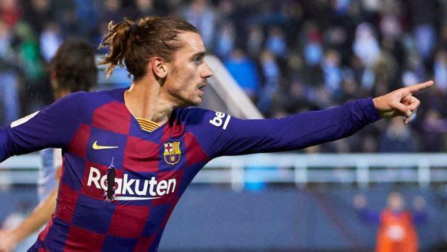 बार्सिलोनाको जीतमा ग्रिजम्यानको २ गोल
