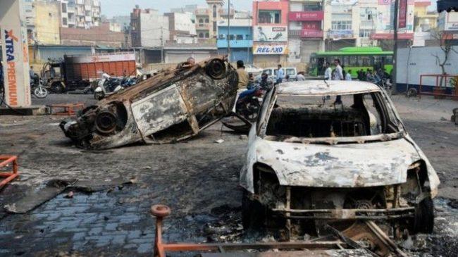 नयाँदिल्ली हिंसामा मृतकको संख्या ३२ पुग्यो, छिटपुट हिंसा जारी