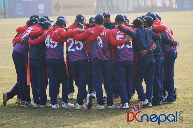 एक दिवसीय वरियतामा नेपाल एक स्थान माथि उक्लियो