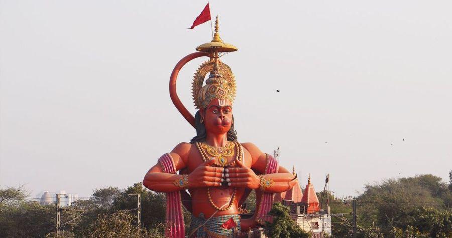 कोहलपुरमा ७५ फिट उचाइ भएको हनुमान मूर्ति निर्माण