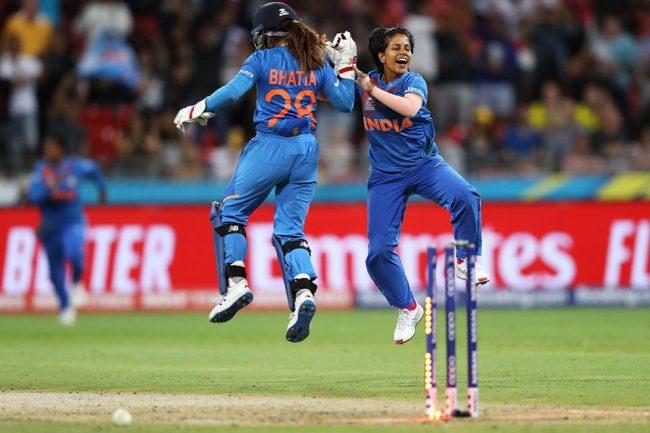 महिला टी–२० विश्वकपः भारतको विजयी सुरुवात