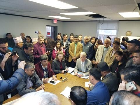 भर्जिनियामा नेपाली अमेरिकन सामुदायिक केन्द्रद्वारा १.७ मिलियन डलरमा भबन खरिद