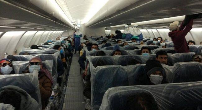 नेपालीको उद्धार मिसनः ६ जना आउन पाएनन्, १७५ जना बोकेर वुहानबाट काठमाडौंका लागि उड्यो विमान