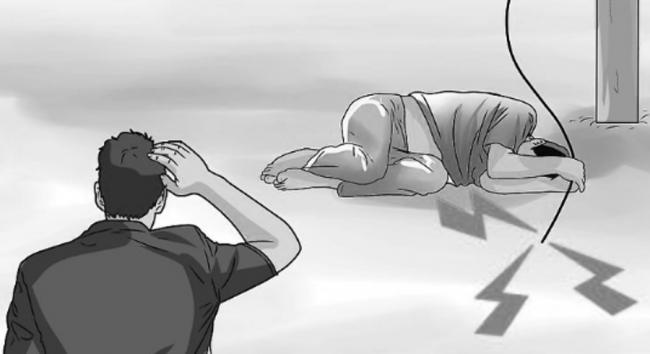 करेन्ट लागेर एक पैदलयात्रीको तत्कालै मृत्यु, अर्का एक घाइते