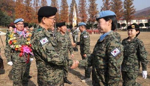 दक्षिण सुडानबाट फिर्ता भएका दक्षिण कोरियाली सैनिकको कोरोना परीक्षण हुने