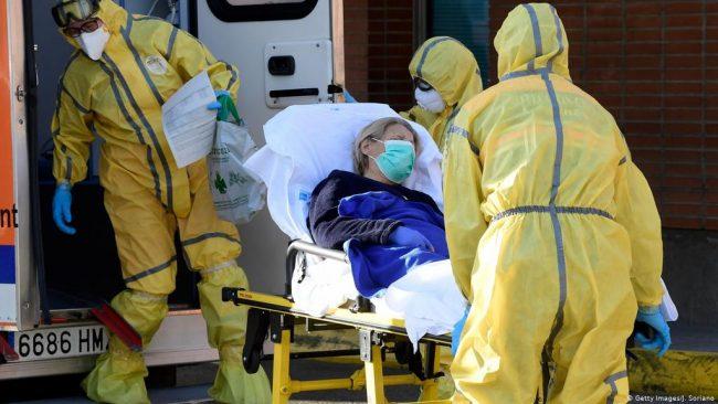 कोरोना महामारीः २४ घण्टामा स्पेनमा सबैभन्दा धेरै मानिसको मृत्यु