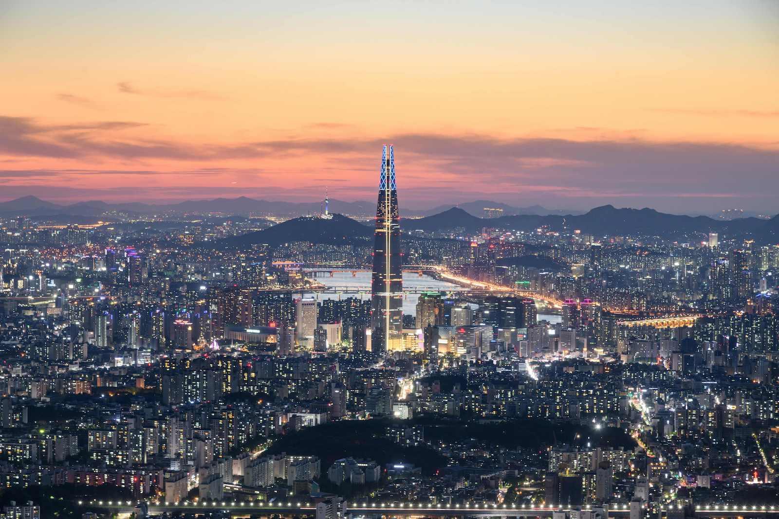 दक्षिण कोरियामा जनसङ्ख्या घट्दो क्रममा