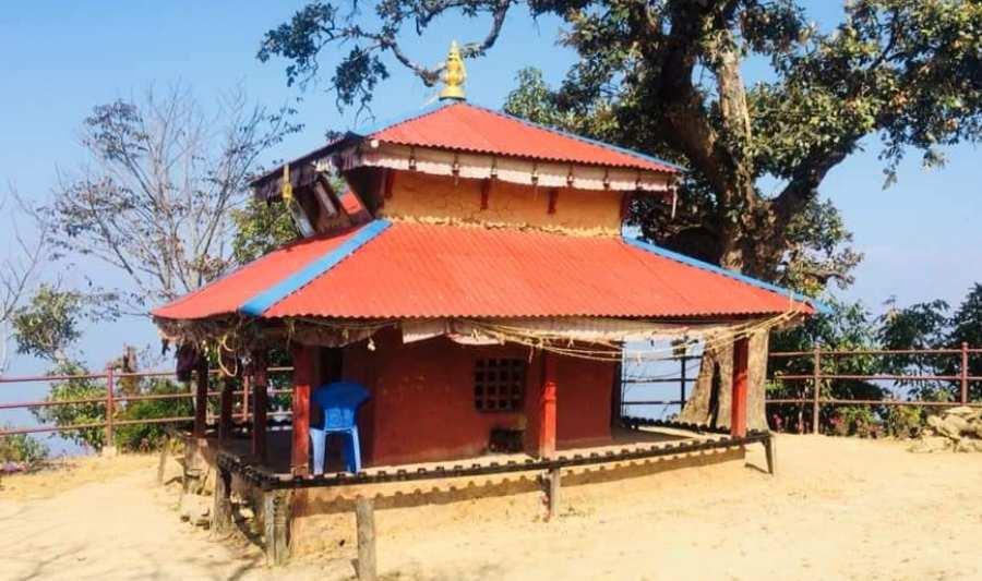 काठ नहुँदा इच्छाकामना मन्दिर पुनःनिर्माण रोकियो