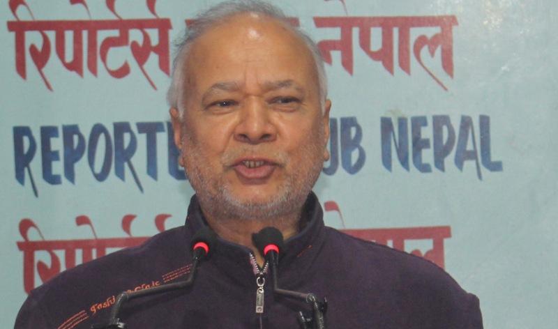 पार्टी भित्रको अन्तरविरोधले मतदाता दुःखी छन् : रघुजी पन्त