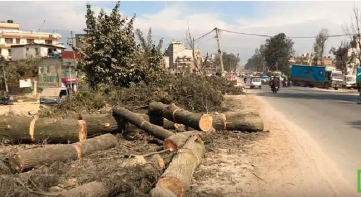 काेराेना भाइरस : कलङ्की–धोबीखोला सडक विस्तारकाे काम प्रभावित