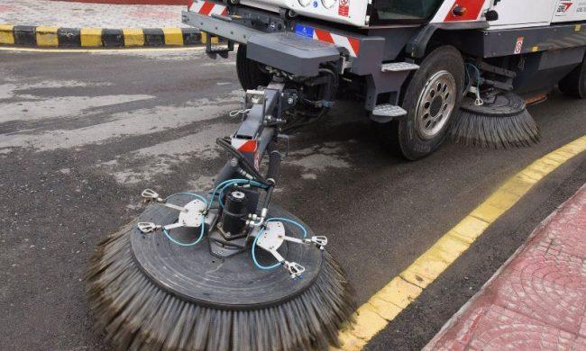 काठमाडौँ धुलोमुक्त भएनः भित्री सडकमा ब्रुमर लगाउन समस्या