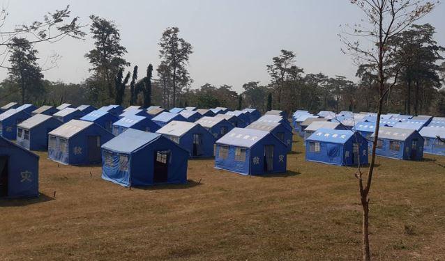 खोटाङमा नेपाली सेनाको सहयोगमा ३६ शय्याको क्वारेन्टाइन निर्माण