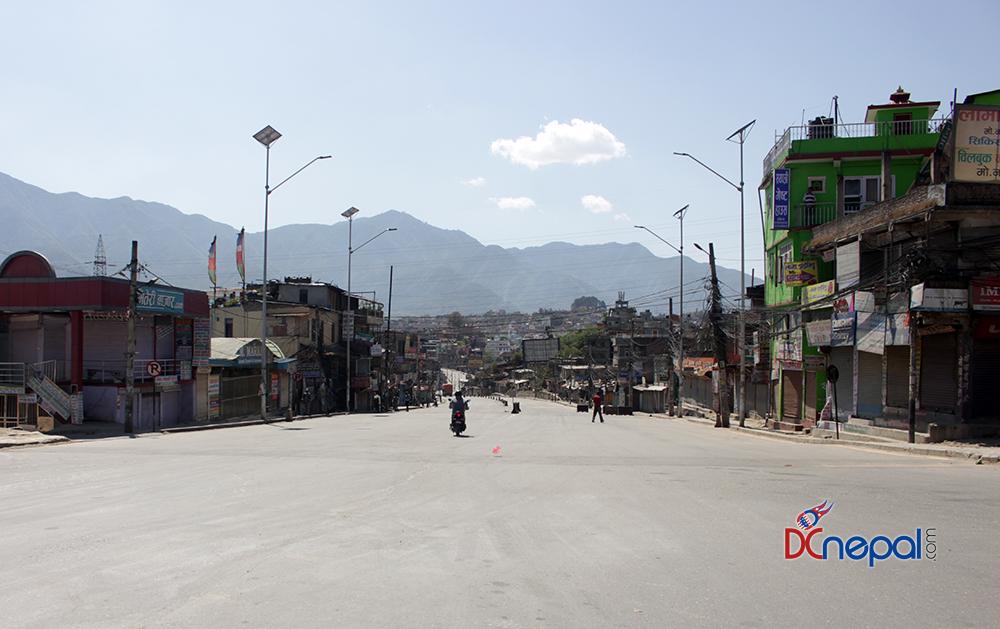 लकडाउनमा  शान्त काठमाडौं (फोटोफिचर)