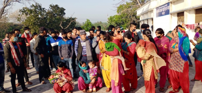 दिल्लीमा ५ हजार नेपालीको बिचल्ली
