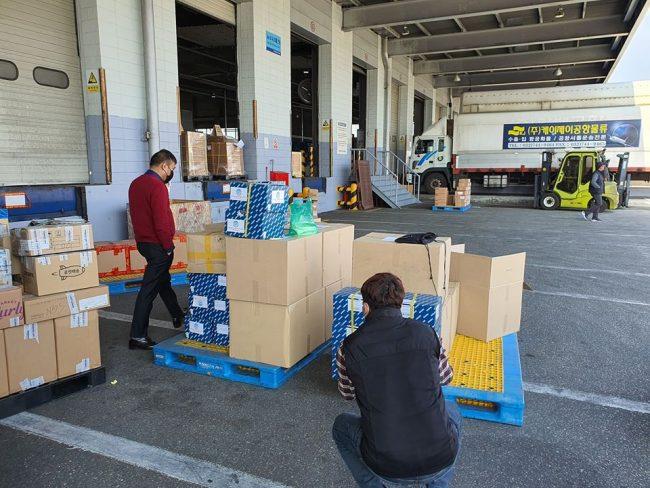 कोरियाबाट पहिलो चरणमा पठाइयो ४ हजार टेष्टिङ किट्ससहित अन्य स्वास्थ्य सामग्री
